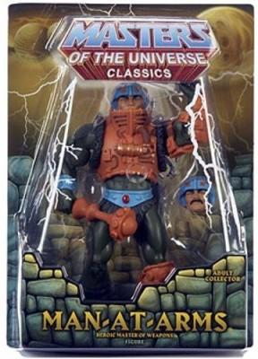Mattel Masters Of The Universe Classics Manatarms Heroic Master