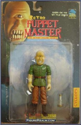 Full Moon Toys Retro Puppet Master Cyclops In General Outfit