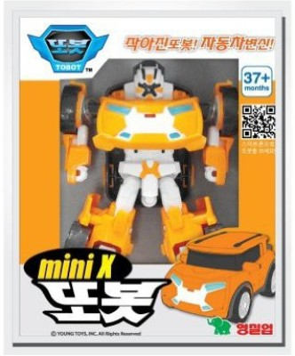 Young Tobot X Mini Transformer Korean Animation Robot Character