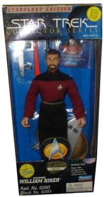 Star Trek Collectors Series William Riker 9 Inch