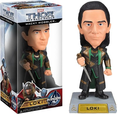 Guardians of the Galaxy Loki Bobble Head Figure: Thor - The Dark World x Wacky Wobblers Series