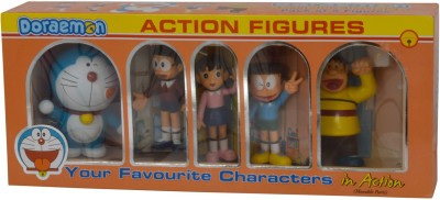 Tabu Doreamon Action Figurine 5 In 1
