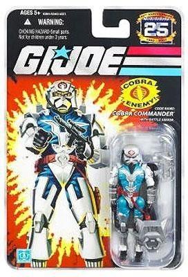 G I Joe Hasbro 3 3/4 25Th Anniversary Cobra Commander