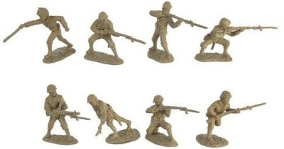 Toy Soldiers of San Diego Wwii Japanese Infantry Plastic Army Men 16 Piece Set