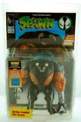 Todd Toys Spawn 1994 Tremor Includes Special Edition Comic Book