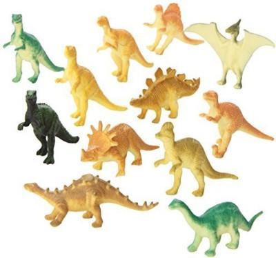 Rhode Island Novelty Dozen Small Toy Dinosaurs: 2 inch Plastic Toy