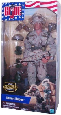G I Joe Year 2002 Army Rangers Collection Series 12 Inch