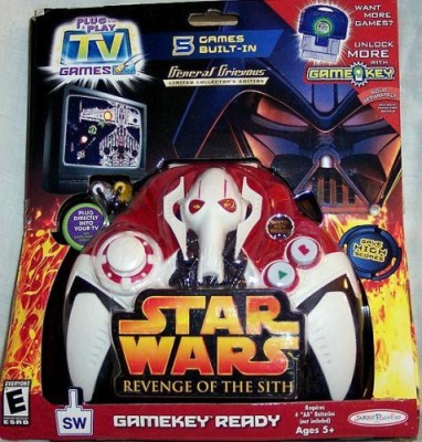 Plug it in & Play Star Wars Revenge Of The Sith General Grievous Tv