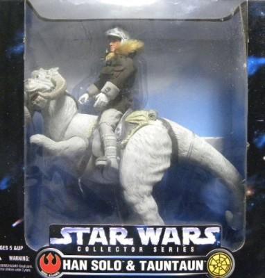 Kenner Huge 1997 Star Wars Han Solo & Tauntaun 12 inches Figure Set