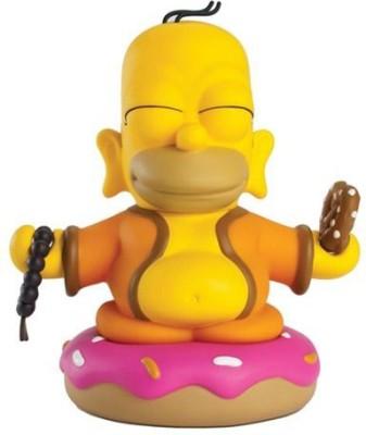 Kidrobot The Simpsons Homer Buddha Mini