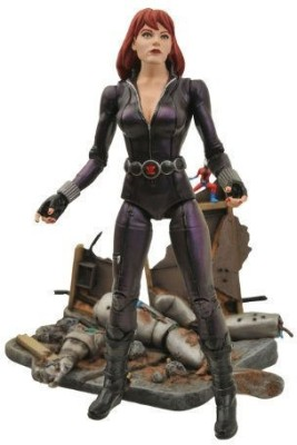 Diamond Select Toys Marvel Select: Black Widow Action Figure