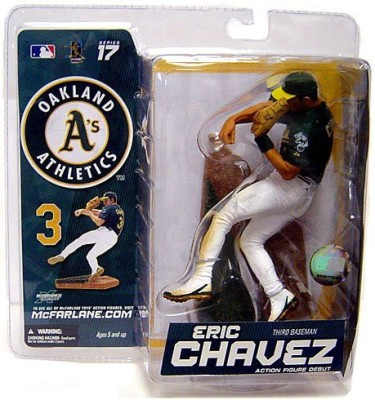 Unknown Mcfarlanemlb Sports Picks Series 17 Exclusive Eric Chavez