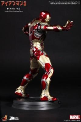 Hot Toys Power Pose Iron Man 3 Iron Man Mark 42 (Plastic )