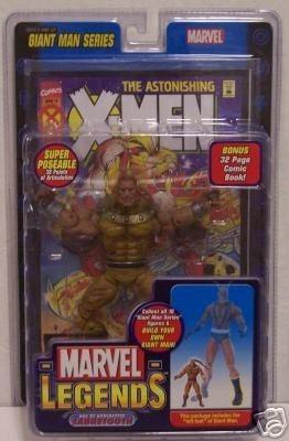Marvel Legends Giant Man Series AOA Sabretooth Action Figure w/ Giant Man Builder Piece