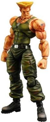 Square Enix Squareenix Street Fighter Iv Guile Play Arts Kai
