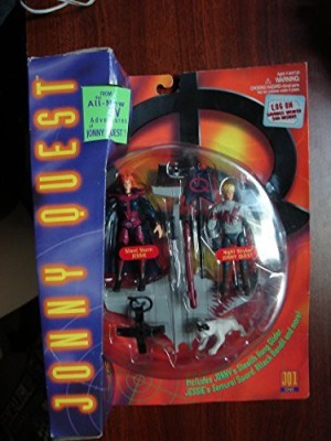 Galoob 1996 Jonny Quest Night Mission With Silent Storm Jessie