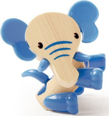 Hape Minimals Elephant Bamboo Play