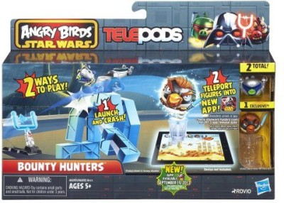 Angry Birds Star Wars Telepods Bounty Hunters Playset