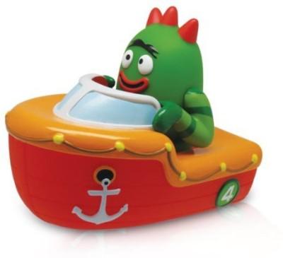 Yo Gabba Gabba Brobee Boat Squeezy Bath