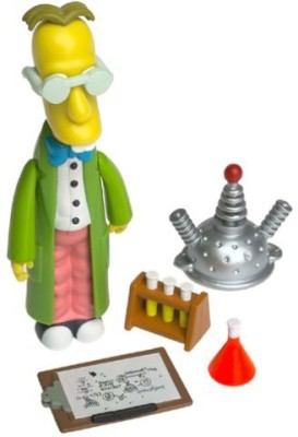 Playmates The Simpsons Series 6 Professor Frink