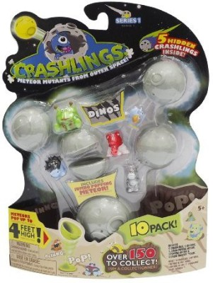 Crashlings Series 1 Mini Sdinos 10 Pack