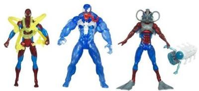Spiderman 3 3/4 In Battle Pack Water