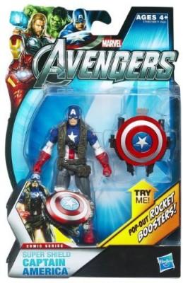 Hasbro Marvel Avengers Movie 4 Inch Super Shield Captain America