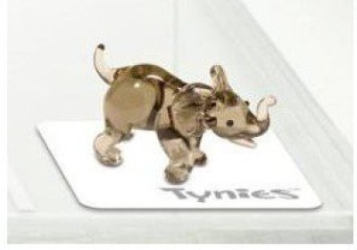 Tynies Animals Mas Elephant * Colors May Vary * Glass