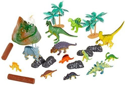 Rhode Island Novelty Dinosaur Set With Carrying Bag23Piece