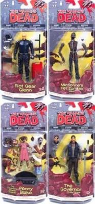 Walking Dead Mcfarlanethe Comic Series 2Set Of 4