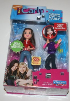 iCarly Fashion Switch Carly Red Jacket & Jeans