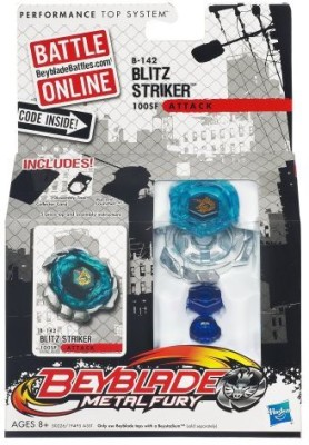 Beyblade Metal Fury B142 Blitz Striker 100Sf Top