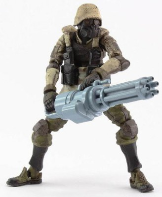 World scope agutsu infantry (1/18 scale prepainted completed product)