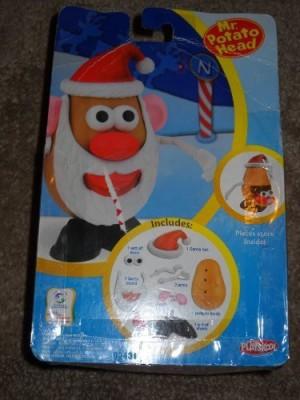 Playskool Mr Potato Head Santa Claus Spud