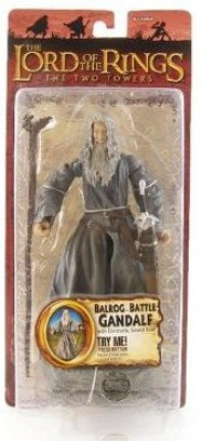 The Lord Of The Rings Two Towers Talking Balrog Battle Gandalf