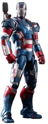 Hot Toys Figurine Iron Man 3 Iron Patriot Limited Edition