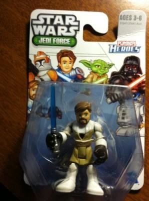 Playskool Obiwan Kenobi Star Wars Jedi Force Heroes