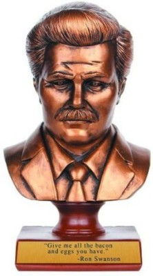 NBCUniversal Store Parks And Recreation Ron Swanson Bust