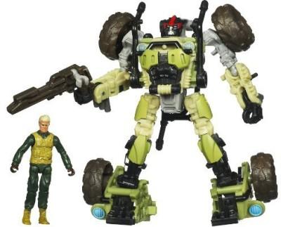 Transformers Dark of the Moon - MechTech - Private Dedcliff and Sandstorm