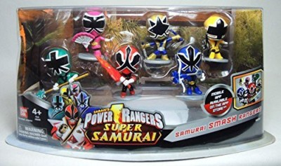 Power Rangers Super Samurai Pvcset Samurai Smash Rangers