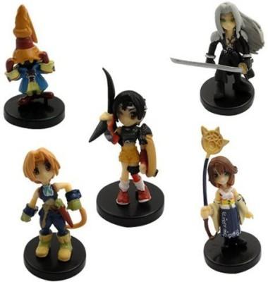 Happy Toys 5X Final Fantasy Sephiroth Yuna Zidane Set