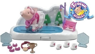 Tea & Cup Teacup Piggies Champions Ice Skating Rink Play Set