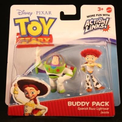 Toy Story Spanish Buzz Lightyear & Jessie 3 Buddy Pack Disney