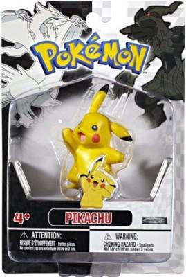 Jakks Pacific Pokemon Black White Series 1 Basic Pikachu Waving