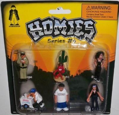 AA Global Homies Series 6 Carded Set 2 (Chepeel Chilotebrujael