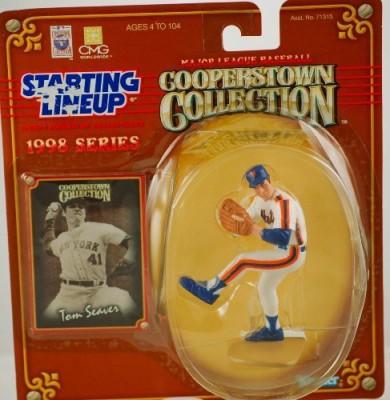 Starting Line Up 1 X Tom Seaver / New York Mets 1998 Mlb Cooperstown