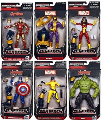 Marvel Avengers Legends Infinite Series Thanos 6