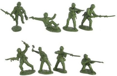 Toy Soldiers of San Diego Wwii United States Marines Plastic Green Army Men 16 Piece