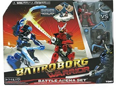Battroborg Warrior Samurai Vs Ninja Battle Arena