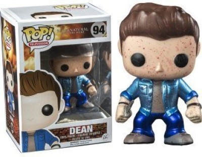 Funko Supernatural Metallic Bloodsplatter Dean Pop
